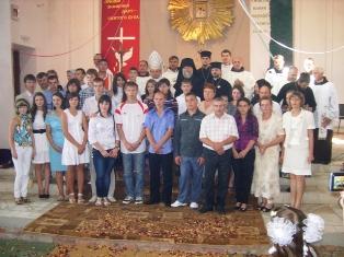Парафіяльний відпуст Уділення Таїнства Миропомазання